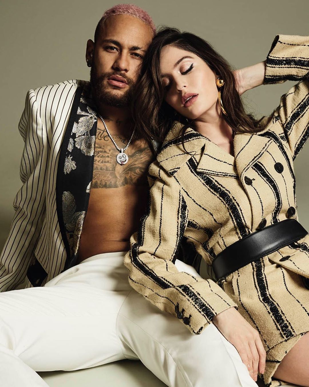 Maluma: Neymar sale con su ex novia Natalia Barulich