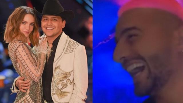 Maluma se burla Belinda y Christian Nodal por envidia