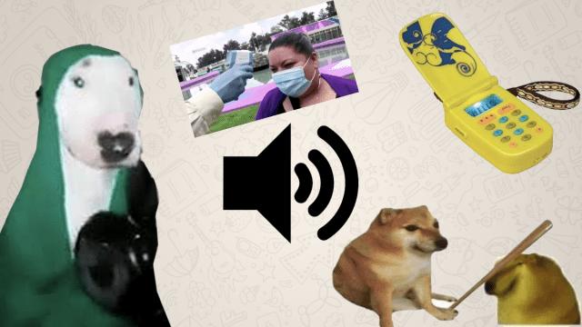 8 stickers de Whatsapp con audio para trollear a tu tía la de los piolines