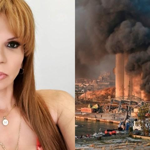 Mhoni Vidente asegura que predijo explosión de Beirut