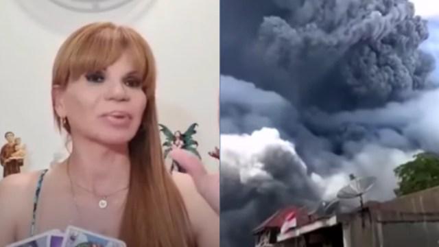 Mhoni Vidente asegura predijo erupción de volcán Sinabung
