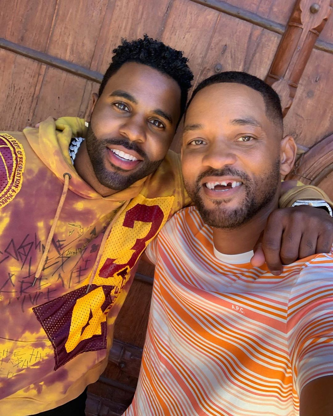Will Smith quedó sin dientes por broma Jason Derulo: Video