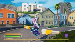 Mapa BTS en Fortnite