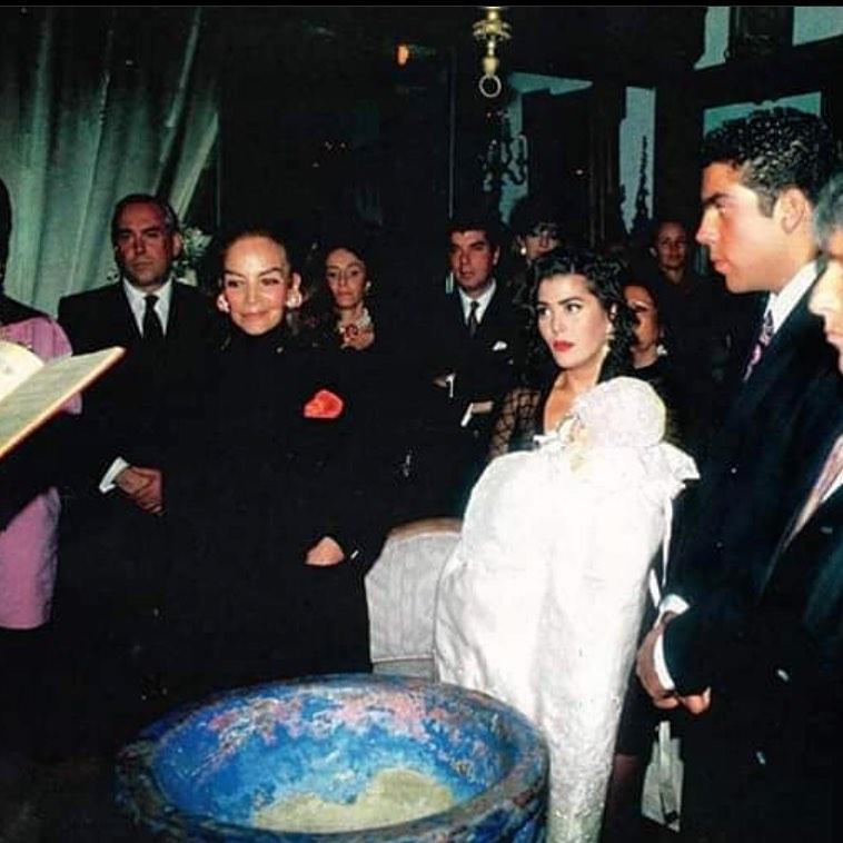 Bautizo Frida Sofía María Félix