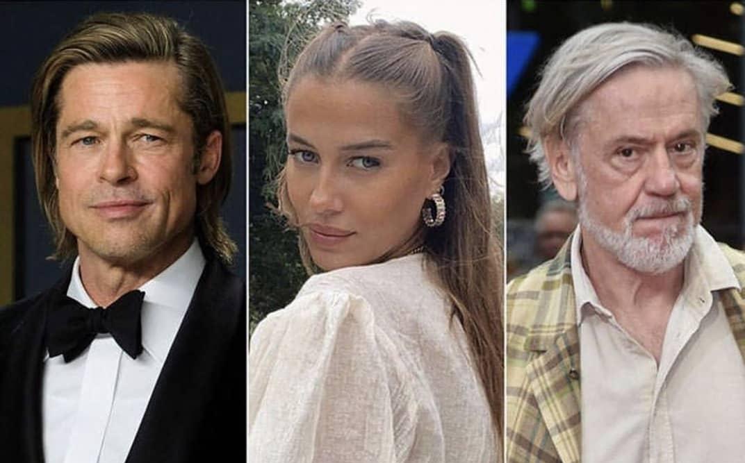 Brad Pitt Nicole Roland Mary