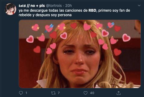 20 mejores memes de como hemos vivido el regreso de RBD en pleno 2020