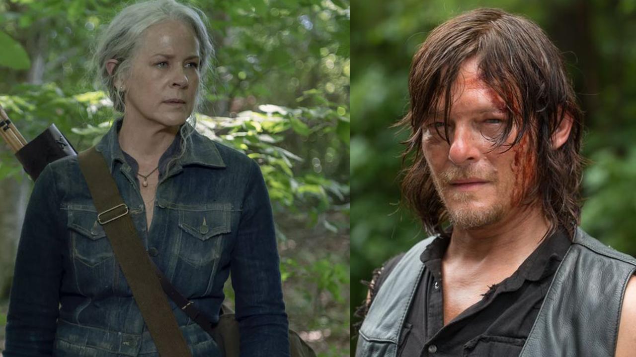 Daryl Carol The Walking Dead