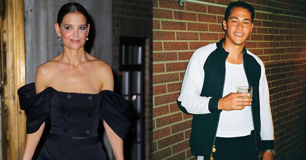 Katie Holmes y su nuevo novio, Emilio Vitolo
