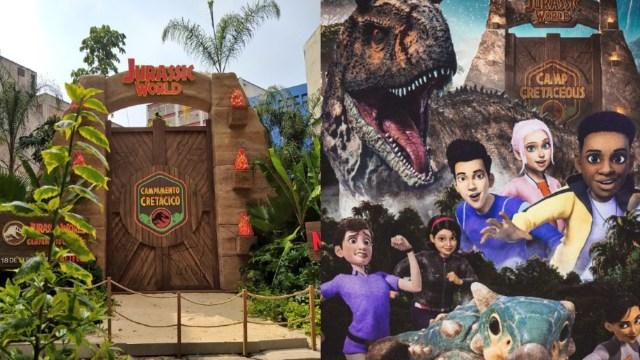 Puerta Jurassic Park CDMX