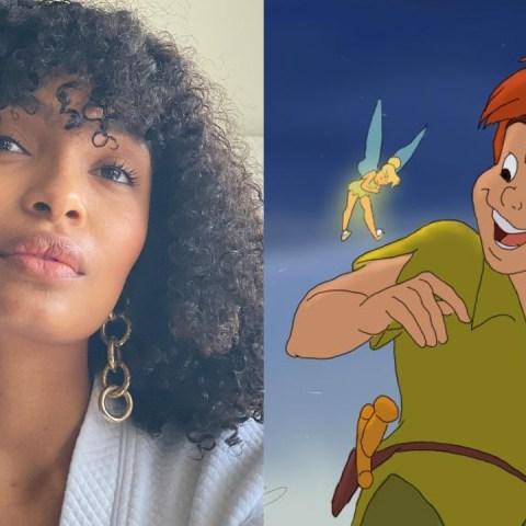 Yara Shahidi en Peter Pan como Tinker Bell