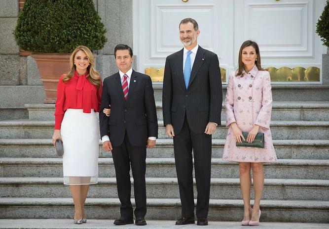 Angélica Rivera, actidea y Enrique Peña Nieto