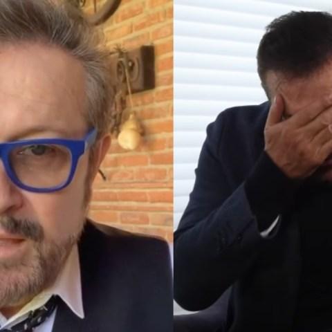 Arturo Peniche llora separación