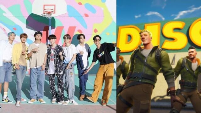 BTS llega a la Fiesta Magistral de Fornite