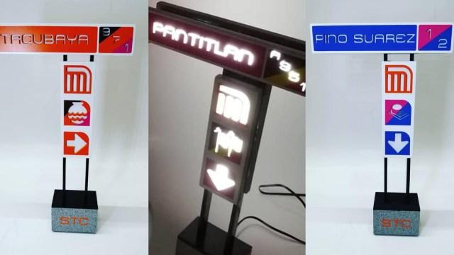 Crean lámparas de estaciones del metro y ya queremos todas
