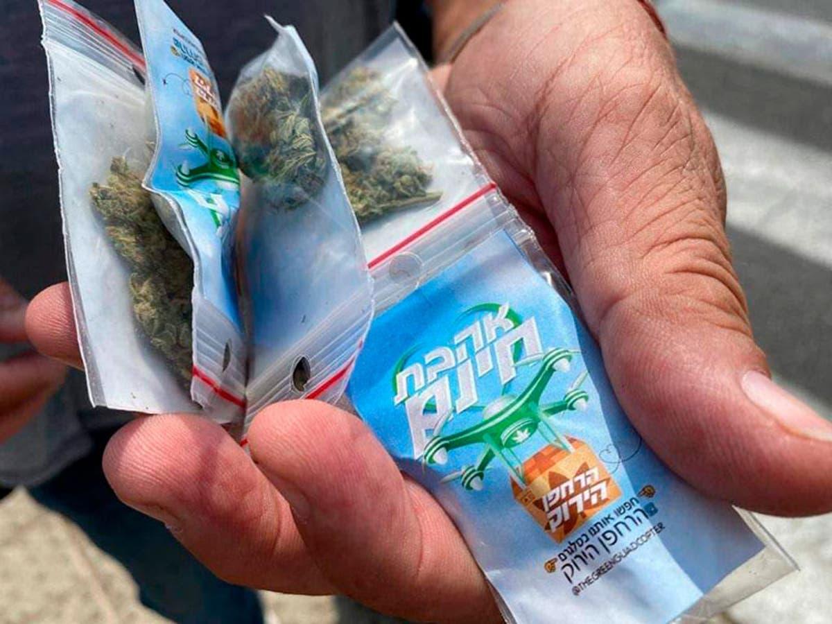 """Dron """"hace llover"""" Marihuana en Israel y sorprende a los ciudadanos"""