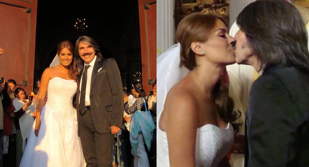 Así fue el día que Galilea Montijo tuvo su boda con Diego Verdaguer