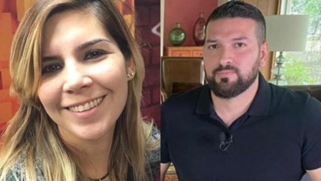 Aseguran que Karla Panini y Américo Garza buscan escapar de México