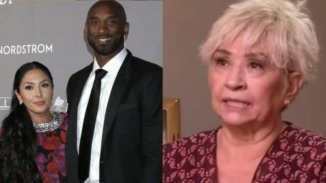 Sofía Laine, suegra de Kobe Bryant revela por qué su hija Vanessa la corrió de la casa