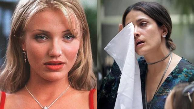 Cameron Diaz y Salma Hayek triste en hollywood