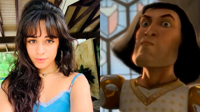 Camila Cabello corta su cabello como Lord Farquaad