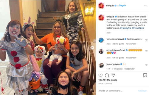 Chiquis Rivera disfrazada en instagram