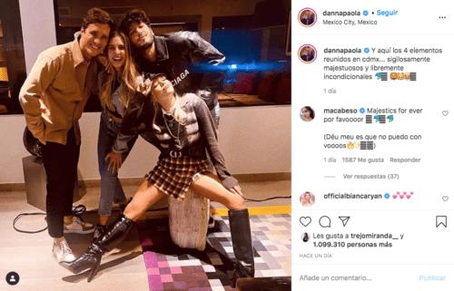 Danna Paola en instagram