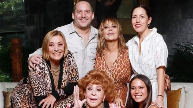 Silvia Pinal y su familia se repartieron herencia