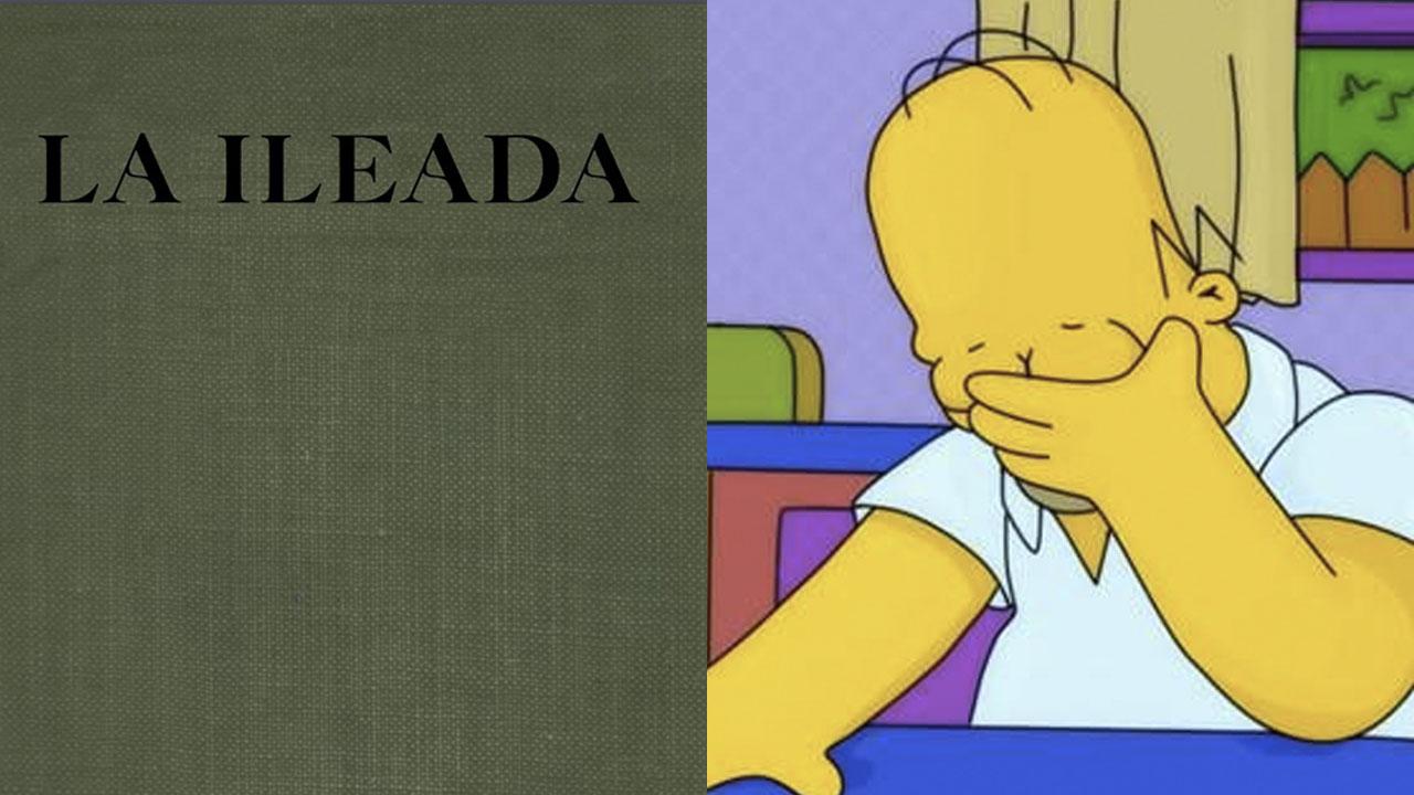 Eliminan libros con el error de 'La Ileada'
