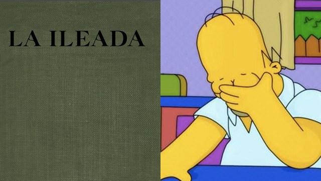 """La SEP publica """"La Ilíada"""" e internet los tunde por cambiarle el nombre a """"Ileada"""""""
