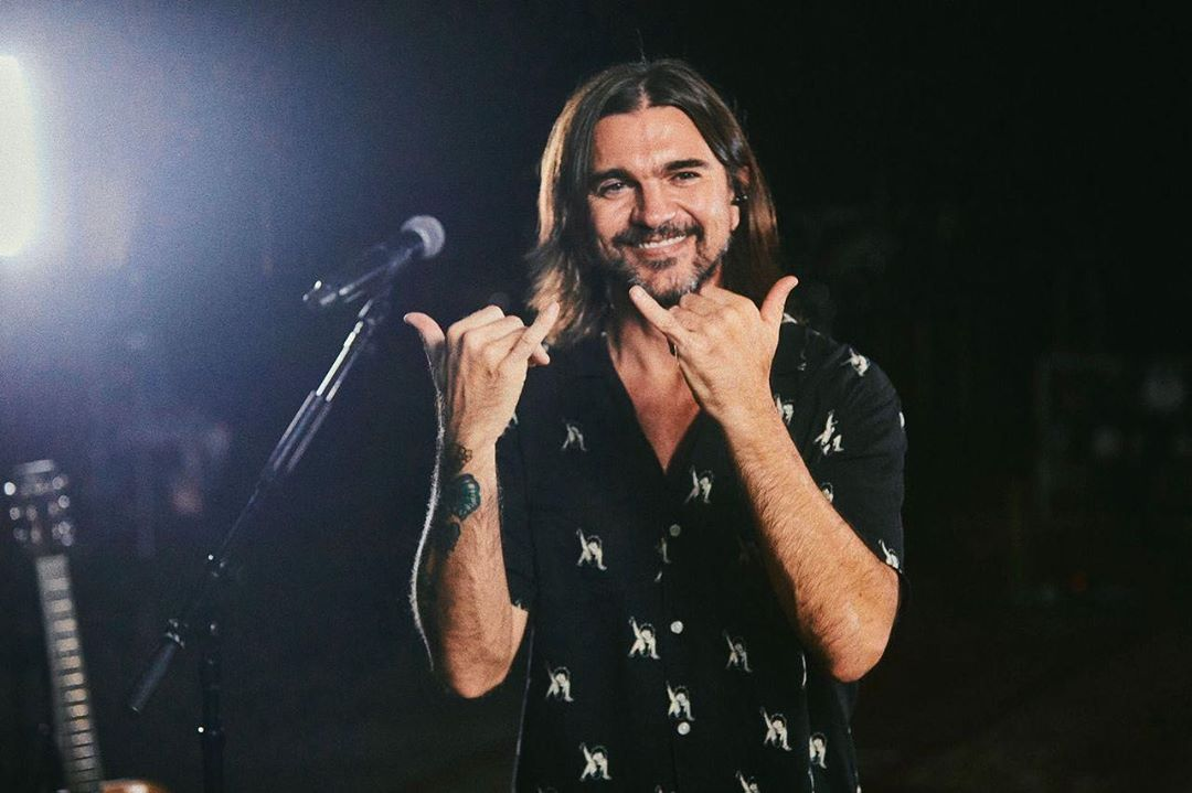 Juanes se metio en problemas con la policia