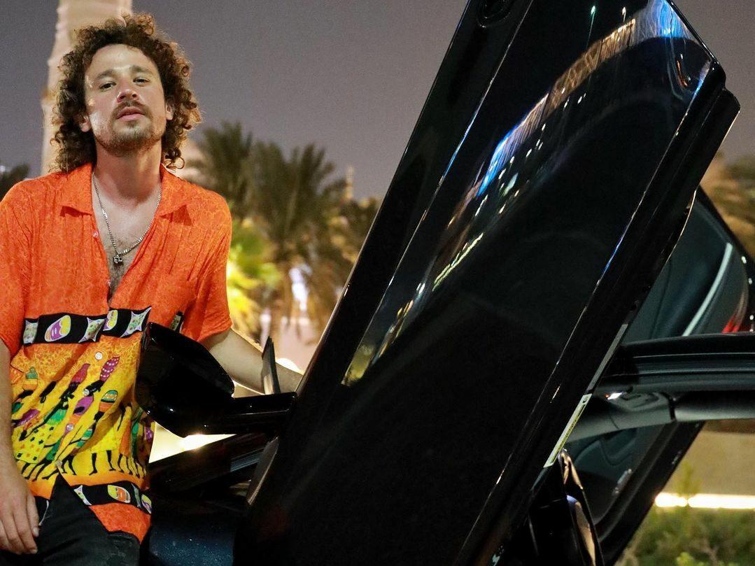 Luisito comunica chocó un Lamborghini rentado en Dubai y se endeuda