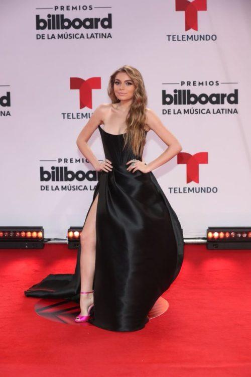 Sofía Castro vestido premios billboard 2020