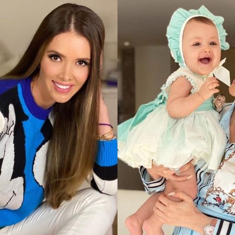 Marlene Favela y su pequeña hija