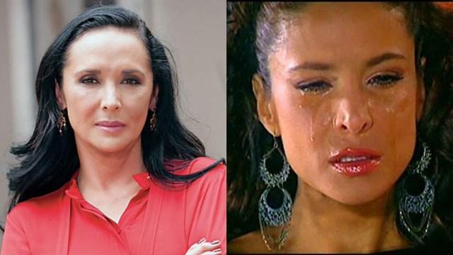 Mayra Rojas y Lorena Rojas llorando