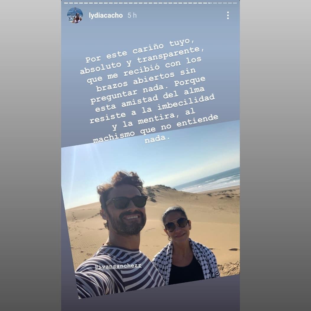 Lydia Cacho dedicó un mensaje a su amigo