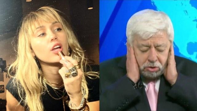 Miley Cyrus quedo aterrada varios dias