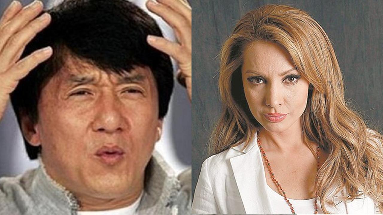 Paty Navidad saca de quicio al meme de Jackie Chan