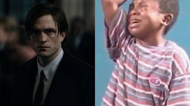 Meme del niño llorando por Robert Pattinson