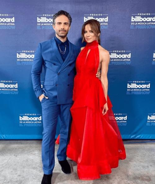 Silvia Navarro Osvaldo Benavides Latin Billboard 2020