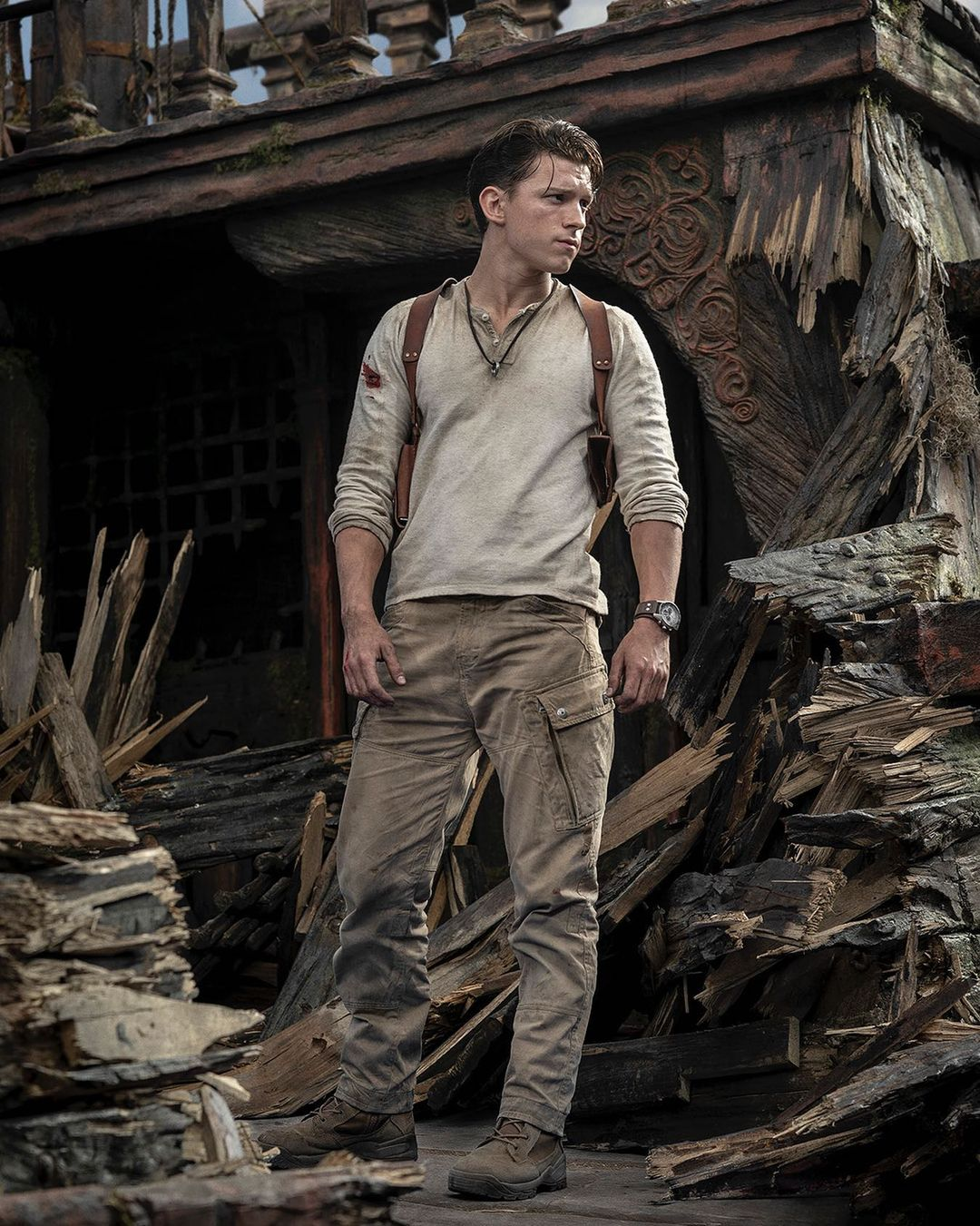 Tom Holland protagoniza Uncharted