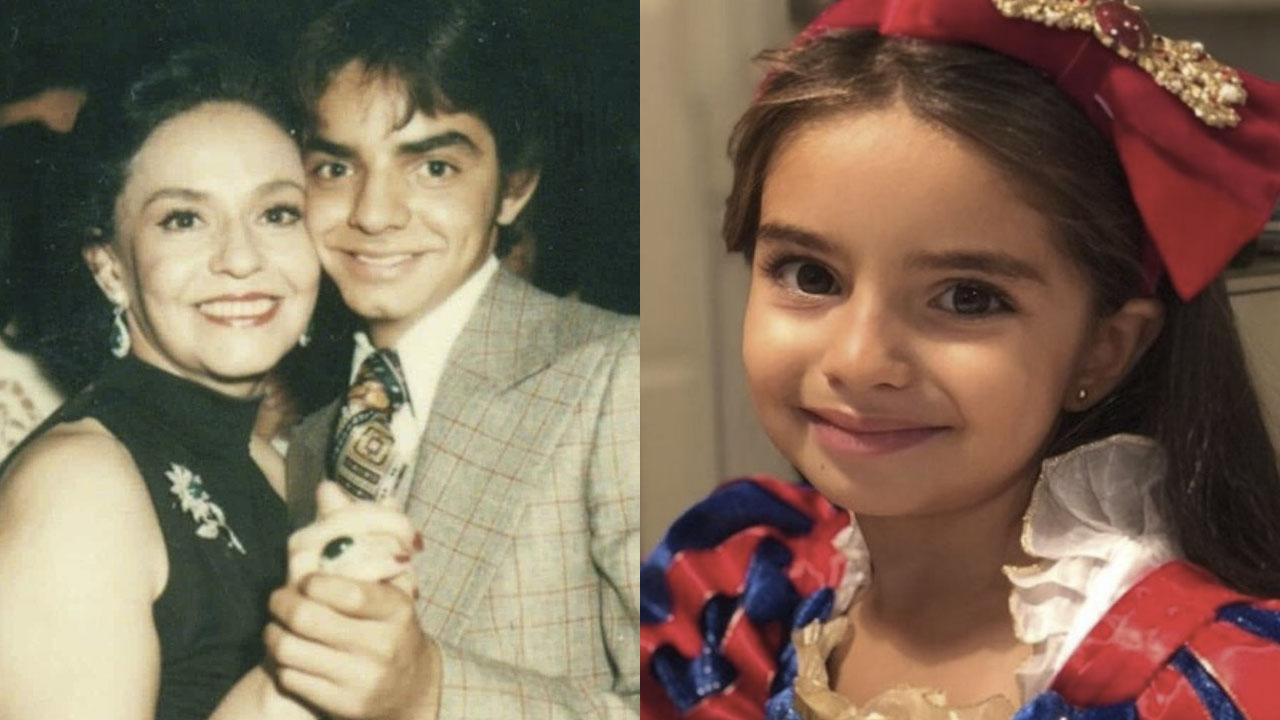 Eugenio Derbez muestra que Aitana es idéntica a Silvia Derbez