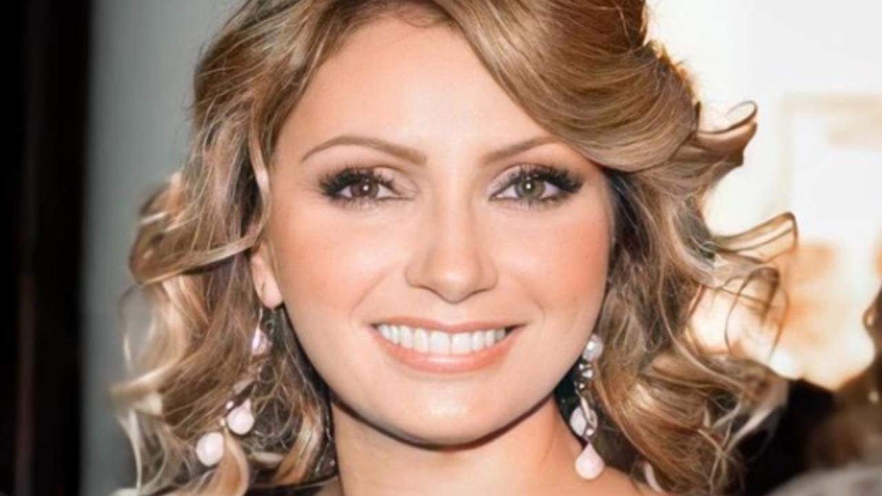 Angélica Rivera más joven