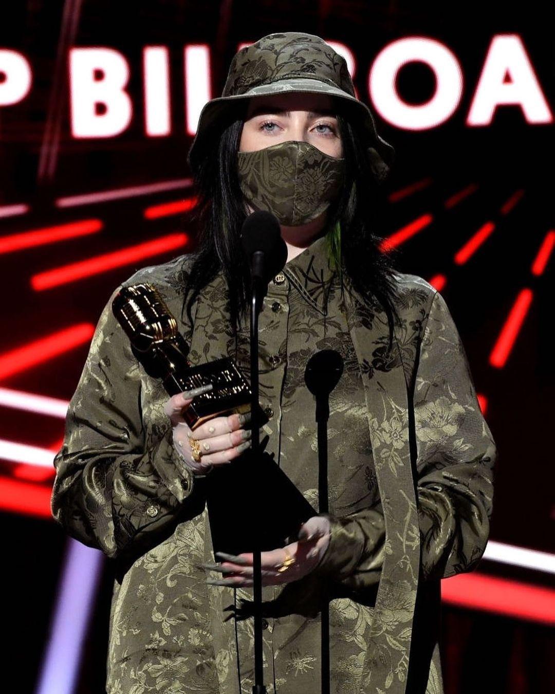 Billie Eilish ganadores Billboard Music Awards 2020