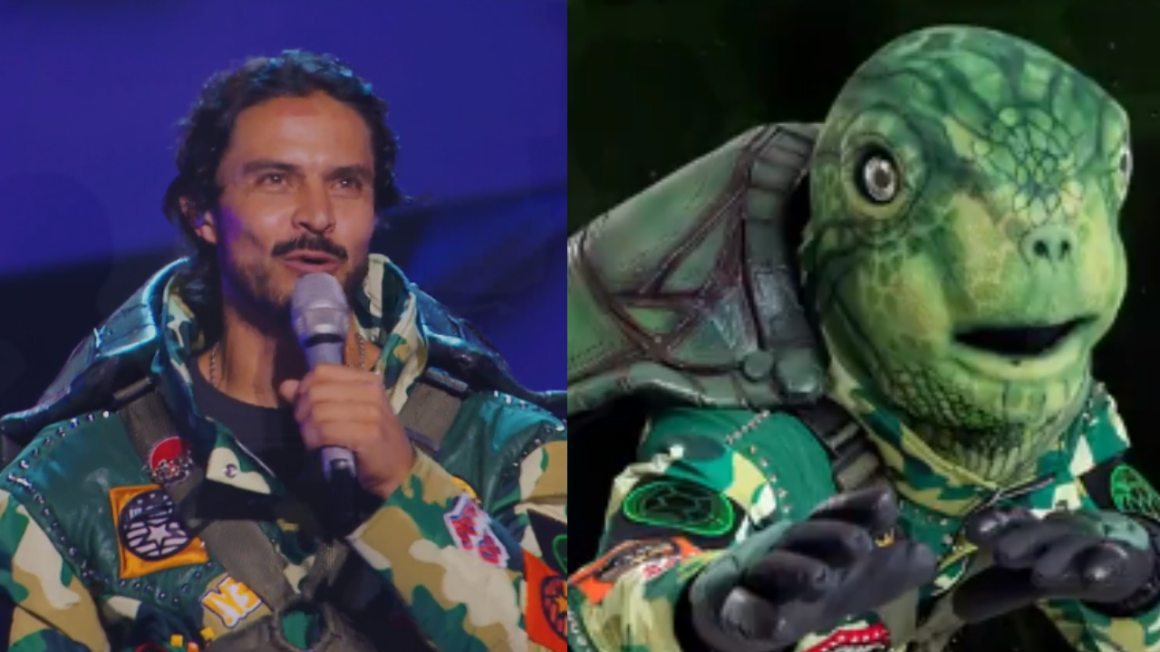 Braulio Luna es Tortuga en '¿Quién es la máscara?' 2020 y así fue desenmascarado