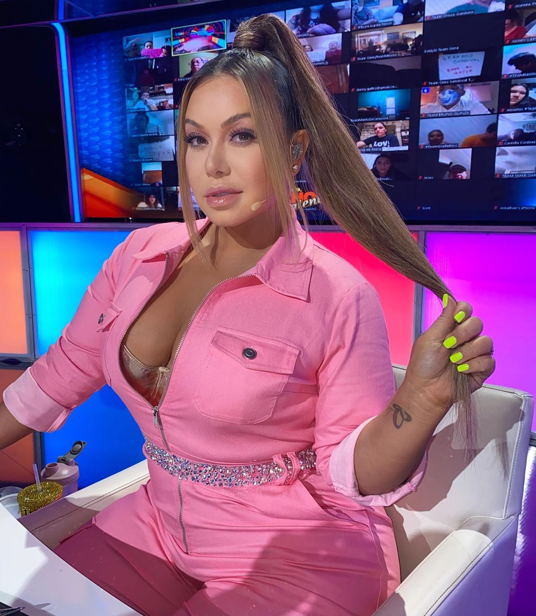 Chiquis Rivera look Barbie