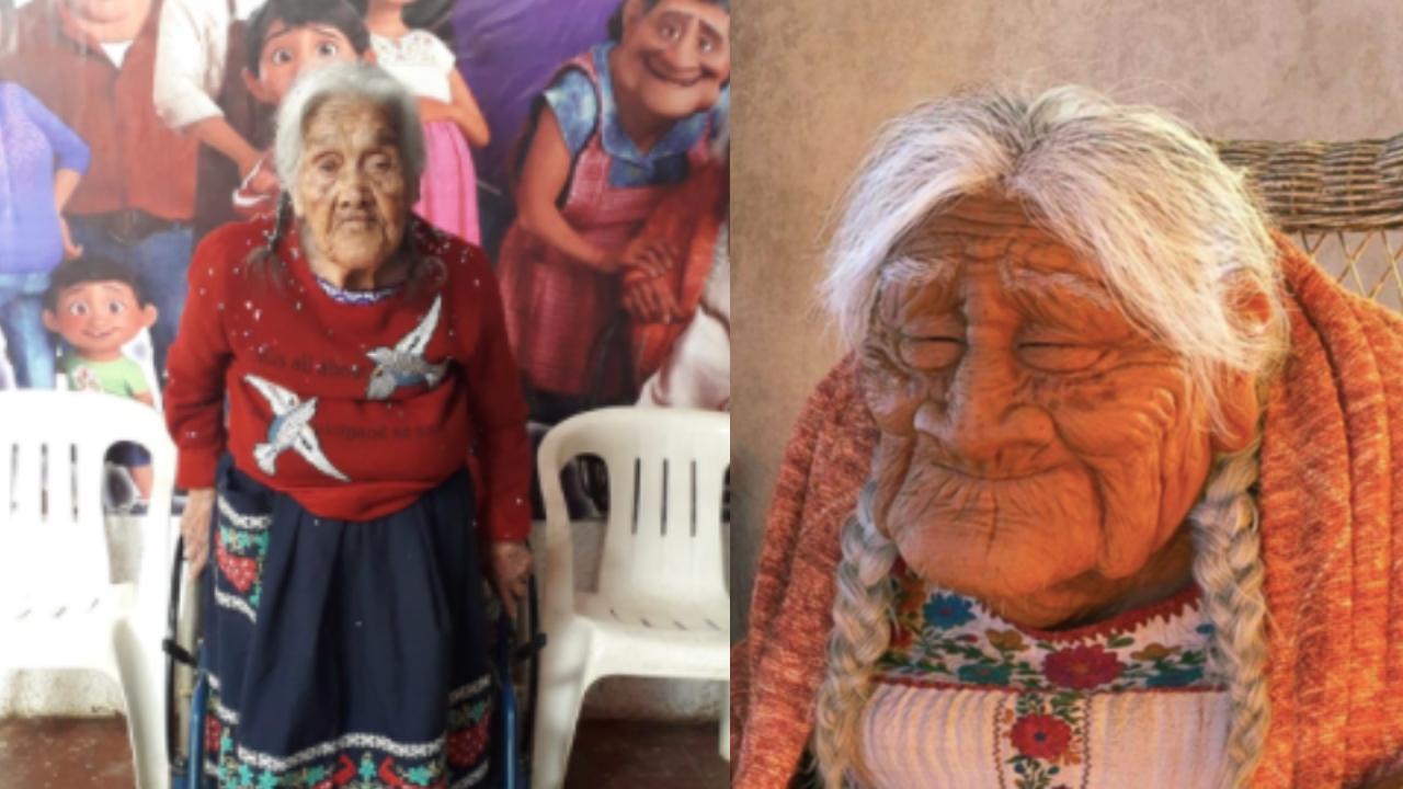 María Salud es mamá Coco