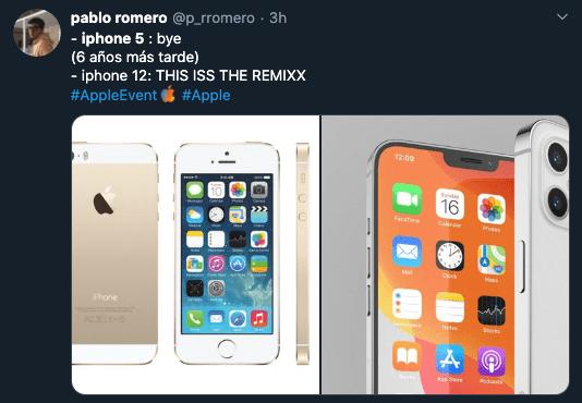 Meme iPhone 12 presentación