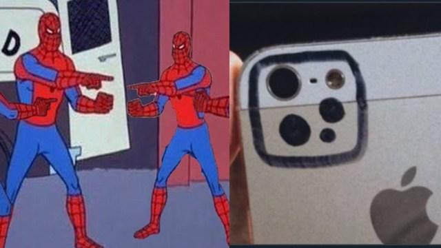 Memes del iPhone 12 que parece 5