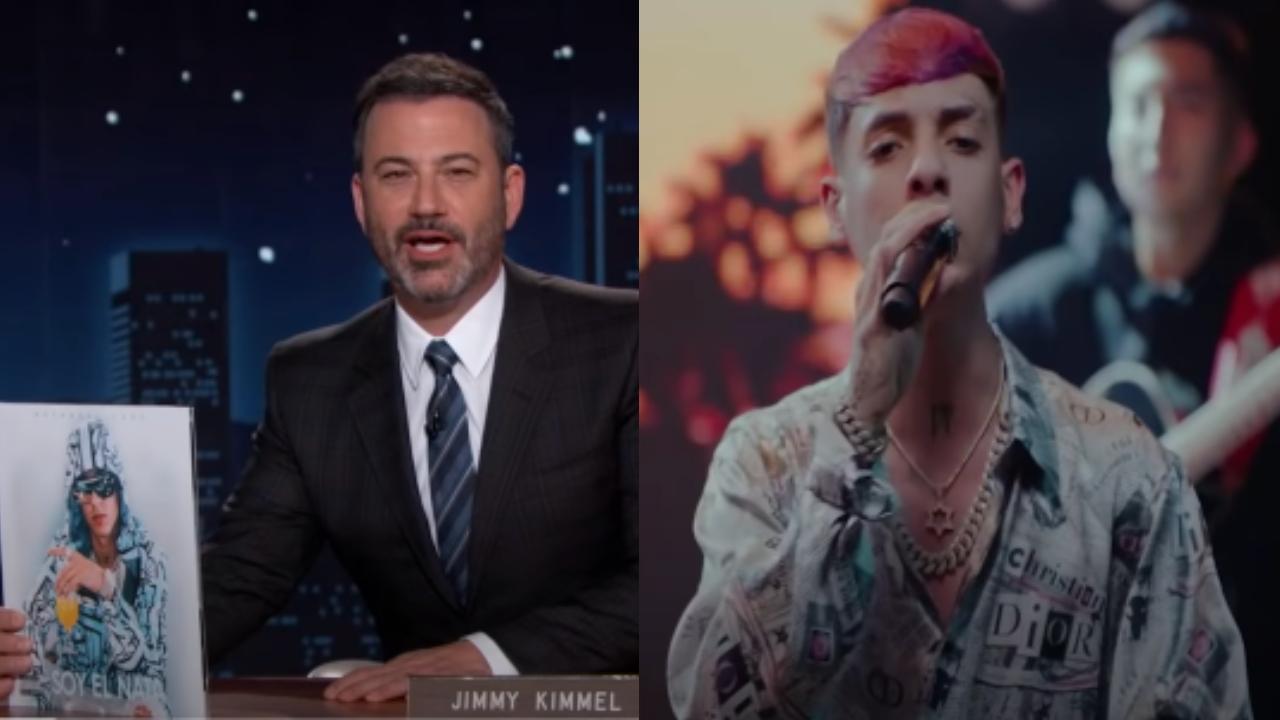 Natanael Cano Jimmy Kimmel