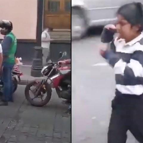 Autoridades de CDMX le quitan la mercancía a un niño e indignan al internet